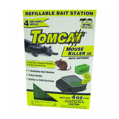 MOTOMCO LTD. Motomco 23704 Tomcat Refillable Mouse Killer 4
