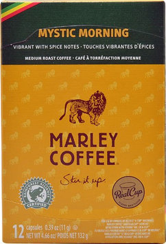 Marley Coffee Single Serve Coffee Capsules Mystic Morning 12 K-Cups