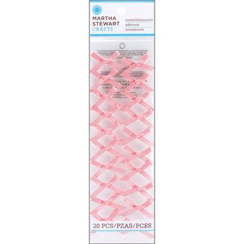 Ek Success Ltd. Martha Stewart Vintage Girl Ribbon Bows 20/Pkg Pink - EK SUCCESS LTD.