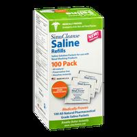 Sinu Cleanse Saline Refills Saline Packets - 100 CT