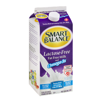 Smart Balance Lactose-Free Fat Free Milk and Omega-3s