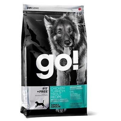 Petcurean Go! Dry Dog Food, Natural Grain Free Endurance Formula, 25 Pound Bag