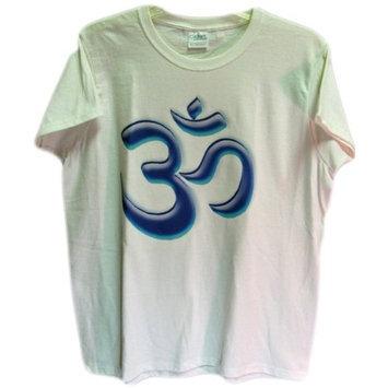 India Shakti Indian Men's Om Yoga Tee
