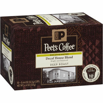 Peet's Coffee Decaf House Blend Coffee K-Cups