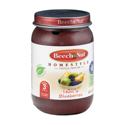 Beech-Nut® Homestyle Stage 3 Pears & Blueberries