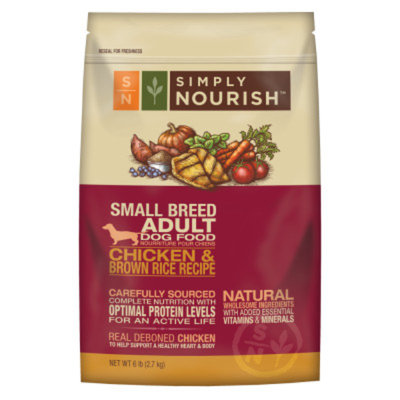 Simply NourishTM Small Breed Adult Dog Food