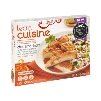 Lean Cuisine Culinary Collection Chile Lime Chicken