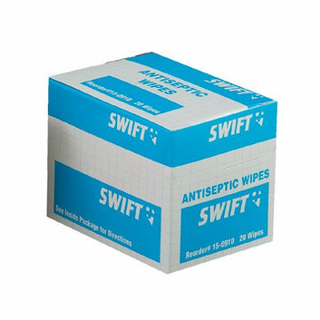 Swift First Aid Antiseptic Wipes - antiseptic wipes 20/bx (Set of 10)