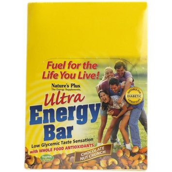 Nature's Plus Ultra Energy Bar - Chocolate Nut Crunch-Box - 12 Bars - Box