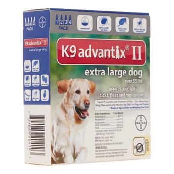 Advantix ADVX-BLUE-100-4 4 Month Supply of Advantix For Dogs Over 55 Lbs.