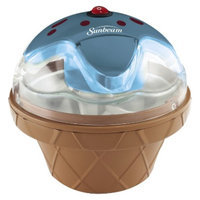 Sunbeam Electric Half Pint Gel Canister Ice Cream Maker - Blue
