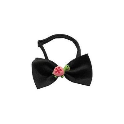 Ahi Turtle Chipper Black Bow Tie