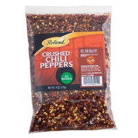 Roland Crushed Dried Red Chili Peppers, 4-Ounce (Pack of 10)