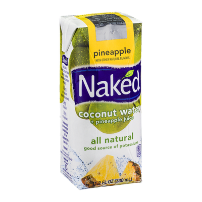Naked Coconut Water + Pineapple Juice