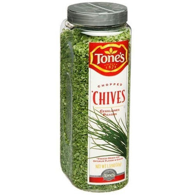 Spices Seasonings Tone's Chopped Chives - 1.12oz shaker