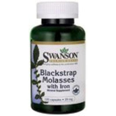 Swanson Premium Blackstrap Molasses with Iron 29 mg 120 Caps