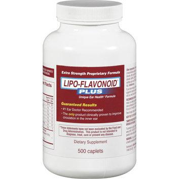 Lipo-Flavonoid Plus Dietary Supplement - Unique Ear Health Formula 500 ct