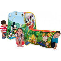 PlayHut Mickey Mouse Adventure Hut Play Tent