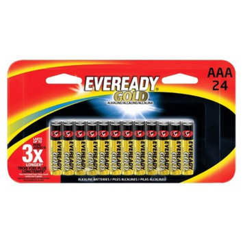 Eveready Gold AAA Batteries 24 count