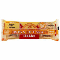 Edward & Sons Cheddar Brown Rice Snaps