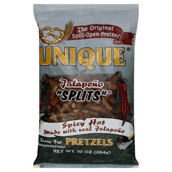 Unique Pretzel Jalapeno Pretzel, 10 Ounce -- 12 per case.