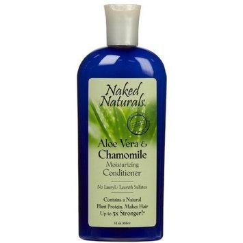 Naked Naturals Aloe Vera & Chamomile Moisturizing Conditioner 12 oz