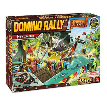 Goliath Games Domino Rally Sea Battle