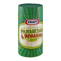 Kraft Parmesan & Romano Cheese Grated