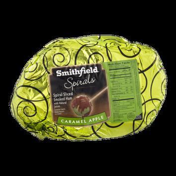 Smithfield Spirals Smoked Ham Spiral Sliced Caramel Apple
