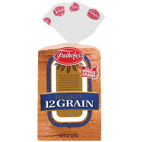 Freihofer's 12 Grain Hearty Bread, 24 oz