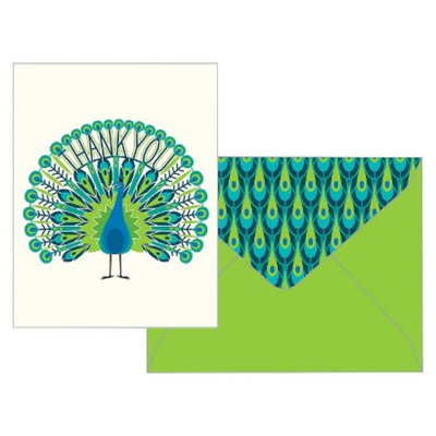 Compendium Thank You Card Pack Green Inspired Thank You