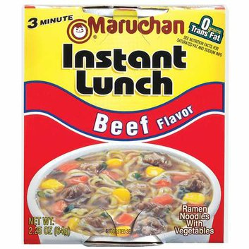 Maruchan Instant Lunch: Beef Flavor Instant Lunch