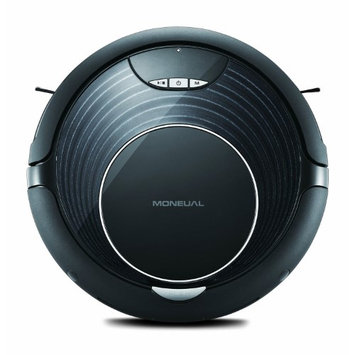 Moneual - Rydis Self-propelled Bagless Cordless Robotic Vacuum/dry Mop - Black