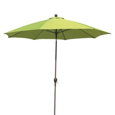 California Umbrella 9' Aluminum Patio Umbrella - Green