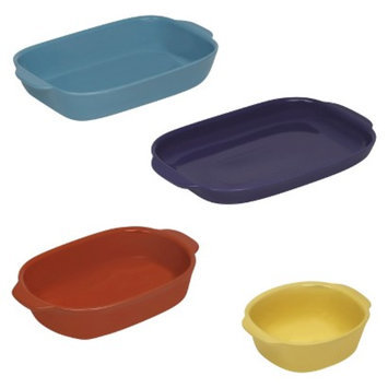 CW By CorningWare 4 Piece Ovenware Set