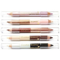 Coastal Scents 5 Piece Duo Shadow Pencil Set, 3.60-Ounce