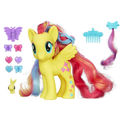 Hasbro HASBRO My Little Pony Styling Strands Fashion Pony Fluttershy Figure - HASBRO, INC.