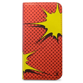 Marware KAPOW! Carrying Case (Folio) for iPhone - Yellow, Orange