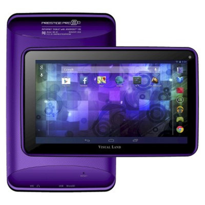 Visual Land Prestige 9D Dual Core 8GB Android 4.2 Tablet - Purple