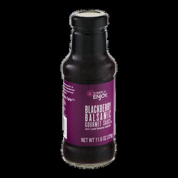 Simply Enjoy Blackberry Balsamic Gourmet Sauce