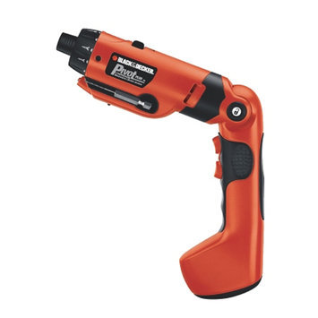 Black & Decker Power Tools 6 Volt PivotPlus All-In-One Cordless Drill PD600