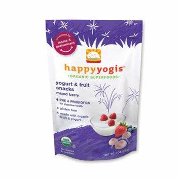 Happy Baby happyyogis Organic Superfoods Yogurt and Fruit Snacks