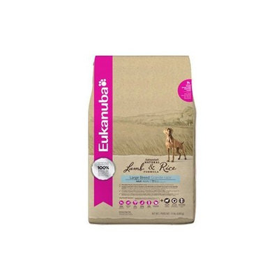 EUKANUBA NAT LAMB & RICE LARGE BREED ADULT 15 LB BG