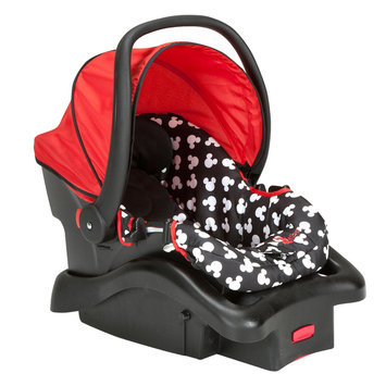 Dorel Juvenile Light 'n Comfy Luxe Infant Car Seat - Mickey Silhouette