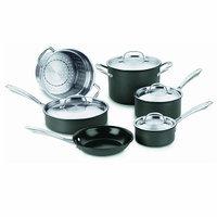 Cuisinart GG-10 10-Piece GreenGourmet Cookware Set
