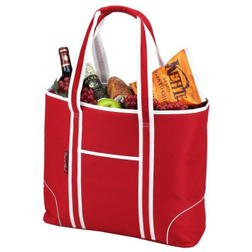Picnic at Ascot Extra Large Insulated Tote Bold Red