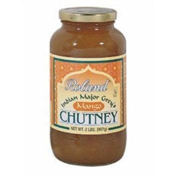 Roland Major Grey Chutney, 32 oz