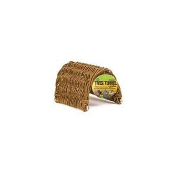 Ware Hand Woven Willow Twig Tunnel Small Pet Hideout, Medium