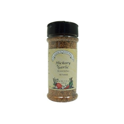 Lizzie's Kitchen Hickory & Garlic Seasoning, 5.10 Ounce Plastic Jar