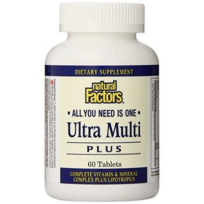 Natural Factors Ultra Multi Plus, 60 Tablets